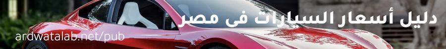 دليل أسعار السيارات فى مصر